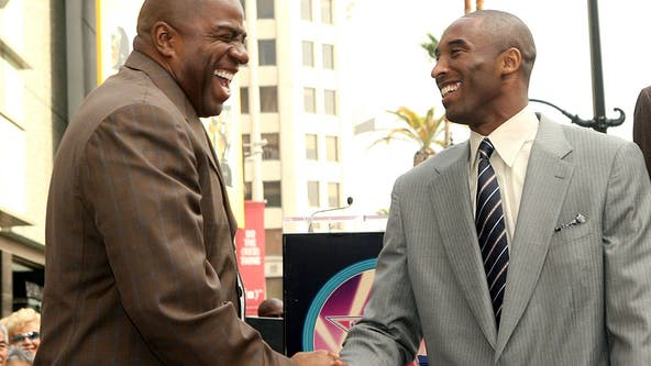 'Your legacy lives forever': Magic Johnson honors fellow Hall of Famer Kobe Bryant