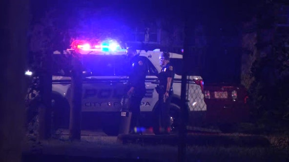 Man barricades himself inside Tampa home, police say