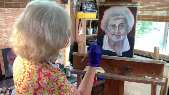 'Faces, not numbers': St. Pete artist paints portraits of those who died from COVID-19