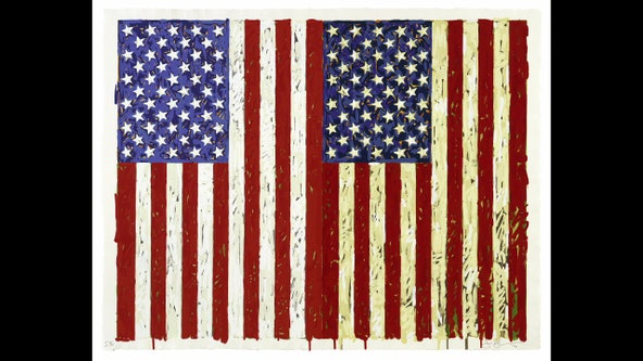 Iconic work of artist Jasper Johns on display in Tampa
