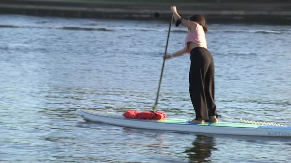 Paddlers take to the water for 24 hours to raise money for families impacted by cancer