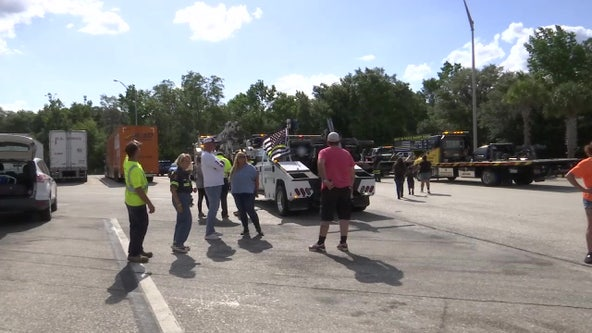 Riders remember fallen tow truck drivers, raise awareness for Florida's 'Move Over' law