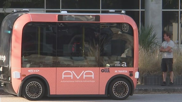 Driverless shuttle coming to Dunedin