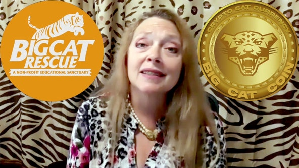 Big Cat Rescue's Carole Baskin announces Big Cat Coin 'crypto-purrency' for online tipping