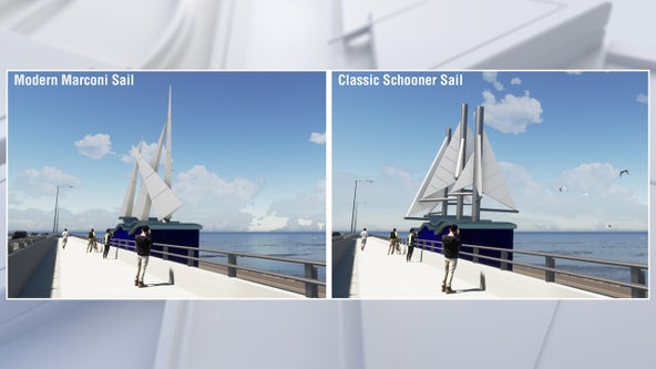 Choose the sculpture theme that will line the new Howard Frankland Bridge