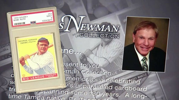 Tampa doctor's collection of rare baseball cards could break auction records