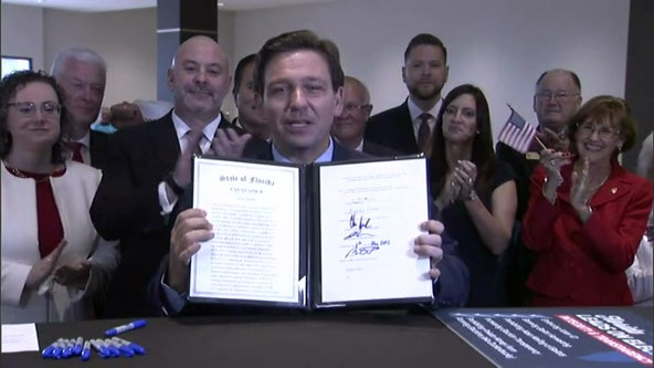 Gov. DeSantis signs GOP-drafted voting bill, legal fight begins