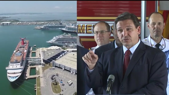 Florida governor calls on cruise lines to return to sailing