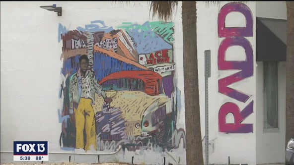Overtown, Sarasota's first Black community, celebrated through Rosemary District mural project