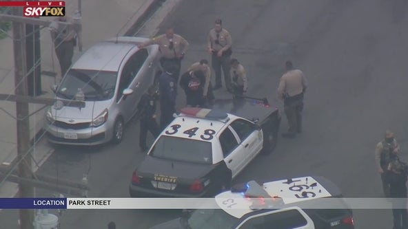 Suspect who led officers on pursuit in stolen U-Haul taken into custody in Bellflower