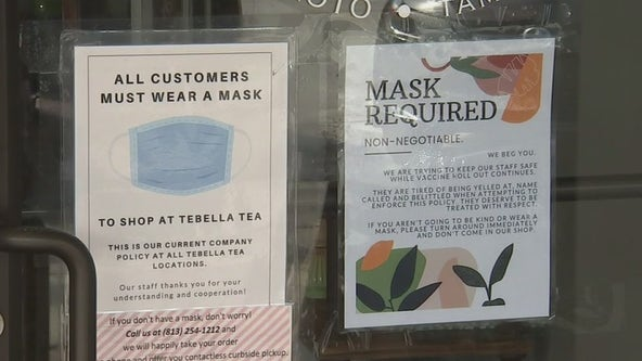 Business owners encourage kindness as mask-related aggression increases
