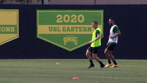 6 months later, Rowdies ready for championship game -- sort of