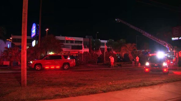 No injuries after 2-alarm fire at Clearwater motel