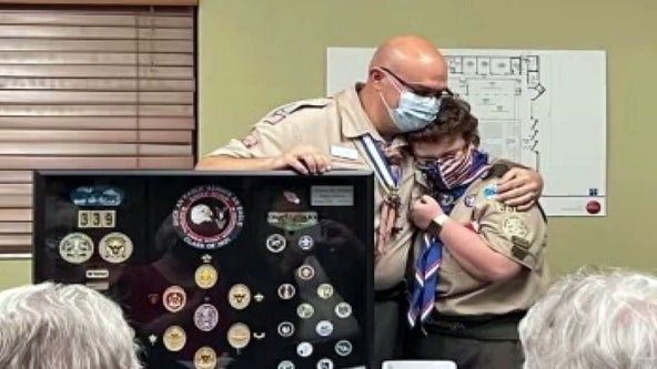 As one of the first female Eagle Scouts, Clearwater teen proud to carry on family legacy