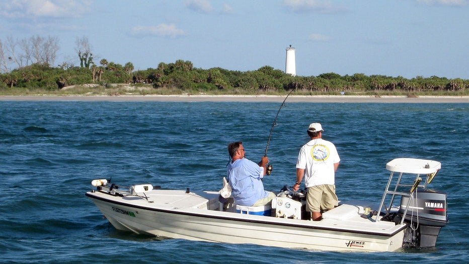 Fishing off Egmont Key