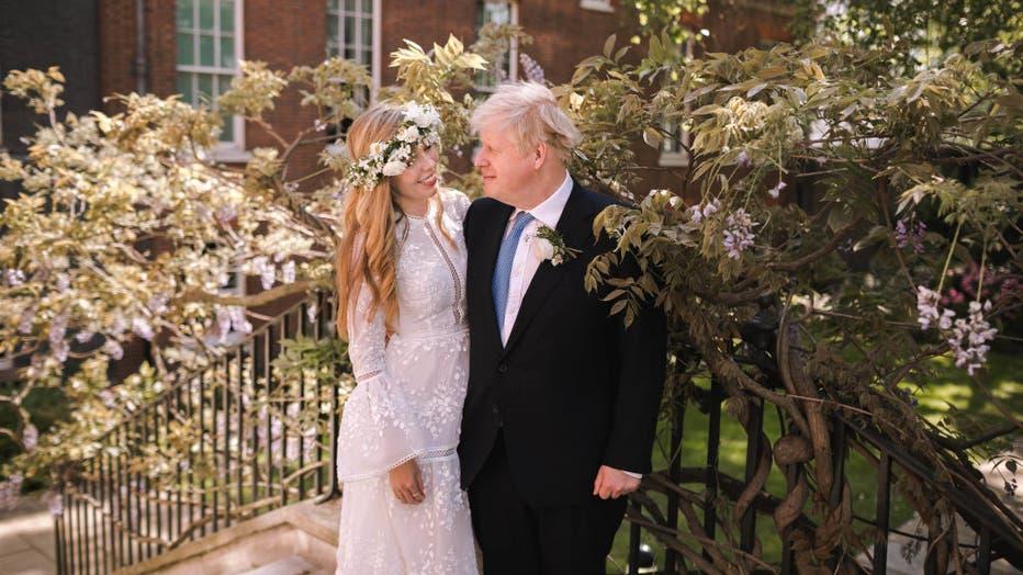 Prime Minister Boris Johnson Marries Fiancee Carrie Symonds