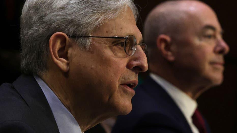 AG Garland And DHS Secretary Mayorkas Testify At Hearing On Domestic Extremism