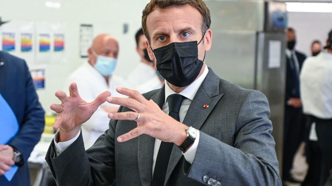 Man who slapped French President Macron gets 4 months in prison - FOX 13 Tampa Bay