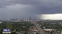 Time-lapse: Wednesday afternoon storms from SkyTower