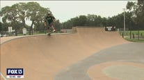 It's all about getting kids on a skateboard at Providence Skate Park in Riverview