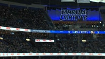 Game 1 of the Stanley Cup semifinals kicked off at Amalie Arena