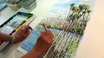 South Tampa artist uses watercolors to share memories, themes of Florida