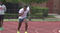 Bay Area sprinter breaks record set by Usain Bolt
