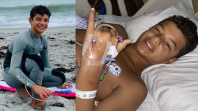 12-year-old surfer bit by shark at Florida beach speaks to FOX 35