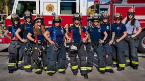 Clearwater's female firefighters hope to inspire next generation