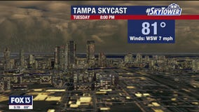 Tuesday evening weathercast
