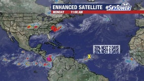 Today's tropical weather forecast