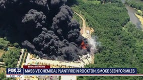 Massive fire at Rockton chemical plant forces evacuations, expected to burn for days
