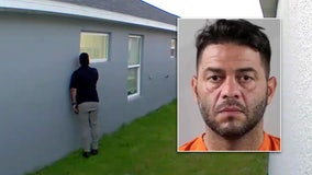 'Low-down, no-good' ex-con caught peeping on Auburndale family, sheriff says