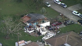 'It gives you a lot of faith in humanity': Good Samaritan helps Polk County tornado victim rebuild home