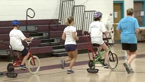 Ability differences won't stop these new cyclists-in-training