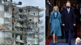 President Joe Biden, First Lady will visit Surfside condo collapse site Thursday