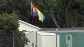 Lakeland man says mobile home park threatened eviction for pride flag