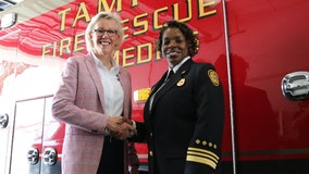 Tampa Fire Rescue welcomes first-ever female to lead department