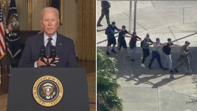 'Turning pain to purpose': Biden gives surprise video address to graduating Parkland students