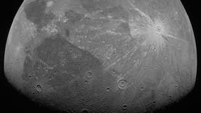 Jupiter's largest moon seen in first close-up in two decades