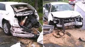 FHP: DUI suspect driving with suspended license crashes on I-275, seriously injuring child