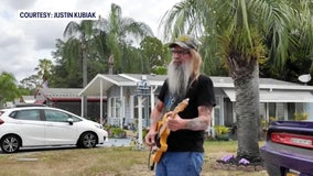 Pasco County man performs patriotic driveway concert for Memorial Day