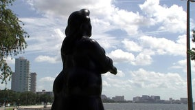 Botero's 'Dressed Woman' watches over swanky new addition to Bayshore Boulevard