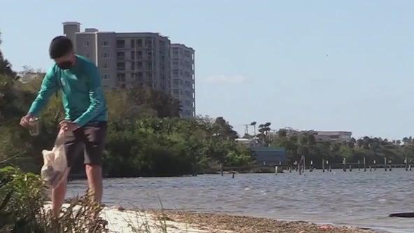 Cleanups underway on World Oceans Day