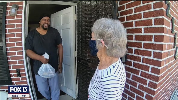 Friends deliver meals and hope to the community