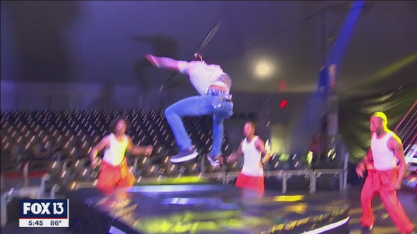 Prison-themed circus show tells story of Alcatraz in Wesley Chapel