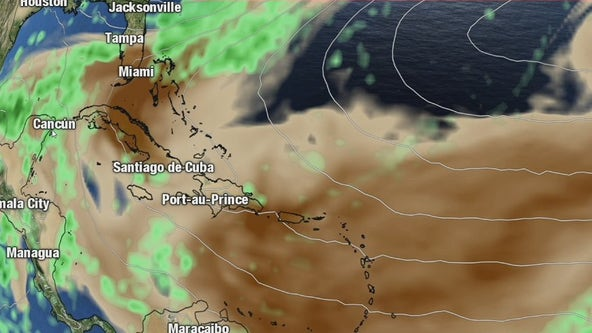 Sunsets and sneezes: Saharan dust blowing into Florida