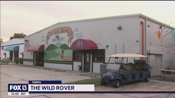 Wild Rover Brewing Company offers beer and British goodies