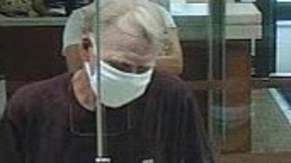 Manatee County deputies searching for Bradenton bank robber
