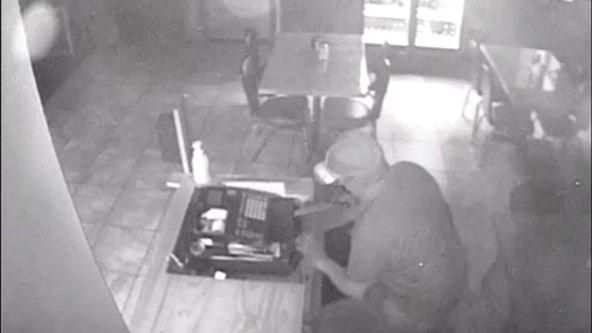 Deputies searching for suspect who burglarized Popi's Place